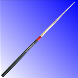 CuePlus 49 telescopic pool cue with red cap from Blue Moon Leisure