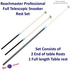 Reachmaster 3 telescopic snooker rest set, as seen on T.V.