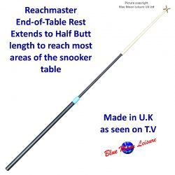 Reachmaster professional extendable telescopic End of Table snooker rest as seen on T.V.