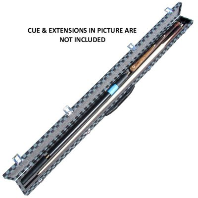 Blue Lattice 3/4 snooker or pool cue case - cue not included