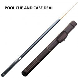Cannon Shadow cue & brown weave case deal