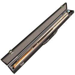 Lynton 2 pc pool cue and box case deal