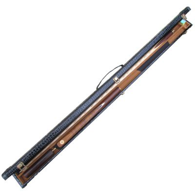 Newberry butt jointed pool cue and case deal