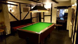 Recovered pool table